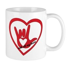 ILY with all my heart Mugs