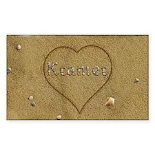 Kramer Beach Love Decal