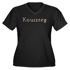 Kourtney Seashells Plus Size T-Shirt