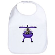 Daddy is Helicopter Captain Bib