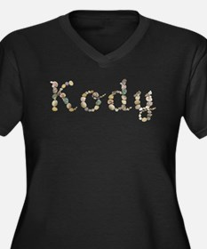 Kody Seashells Plus Size T-Shirt