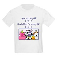 Logan turns one! T-Shirt