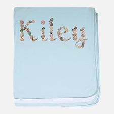 Kiley Seashells baby blanket