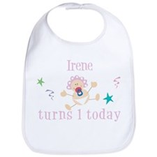 Irene turns 1 today Bib