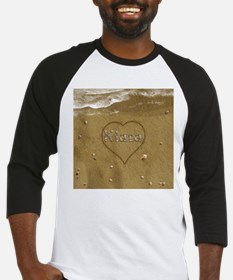 Kiara Beach Love Baseball Jersey