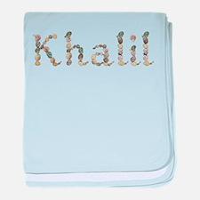Khalil Seashells baby blanket