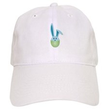 Hatching Bunnies Blue Baseball Baseball Cap