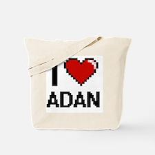Cute Adan Tote Bag