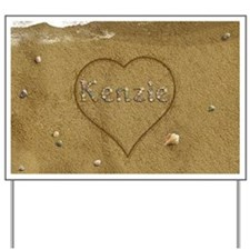 Kenzie Beach Love Yard Sign