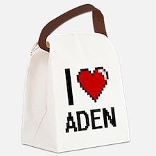 Funny Aden Canvas Lunch Bag