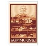 Summerisle Large Poster