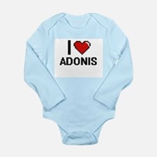 I Love Adonis Body Suit