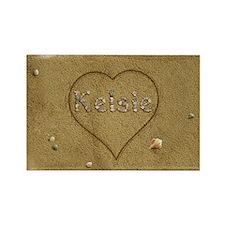 Kelsie Beach Love Rectangle Magnet
