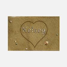 Kelsey Beach Love Rectangle Magnet