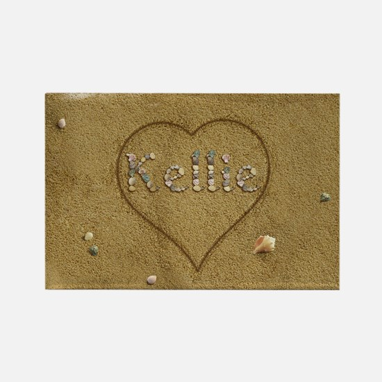 Kellie Beach Love Rectangle Magnet