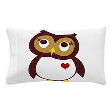 Cute Bird watching Pillow Case