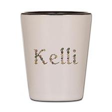 Kelli Seashells Shot Glass