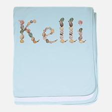 Kelli Seashells baby blanket