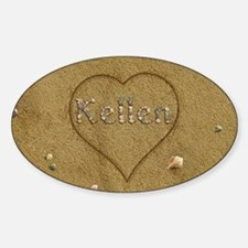 Kellen Beach Love Decal