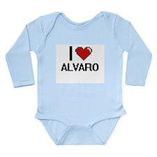 I Love Alvaro Body Suit