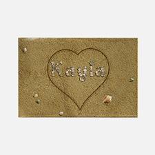 Kayla Beach Love Rectangle Magnet