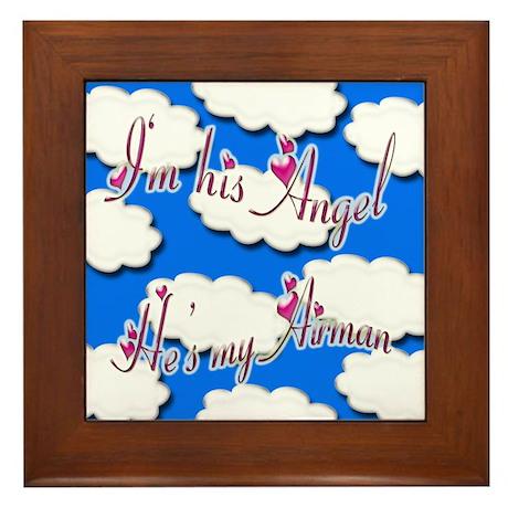 Airman Angel Framed Tile