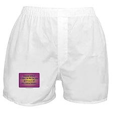 Cute Homebirth Boxer Shorts