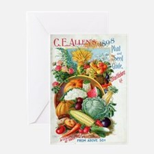 1898 Plant and Seed Guide Greeting Cards