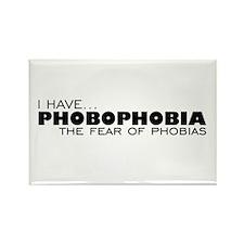 Phobia-Phobia Rectangle Magnet