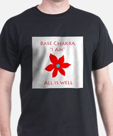 All Is Well Base Chakra T-Shirt