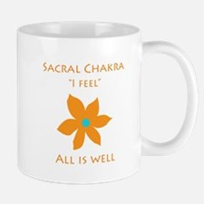 All Is Well Sacral Chakra Flower Design Mugs