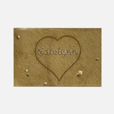 Katelynn Beach Love Rectangle Magnet