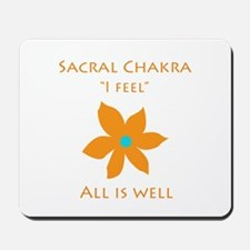 All Is Well Sacral Chakra Mousepad
