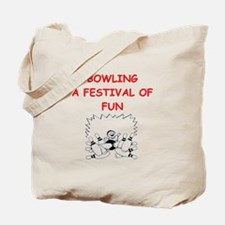 Funny Bowling 300 game Tote Bag
