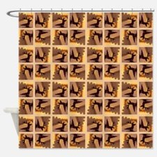 DEER IN WATER Shower Curtain