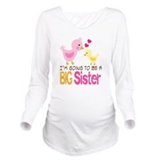 Baby Sister, Baby Bi Long Sleeve Maternity T-Shirt