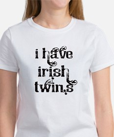 I have Irish twins fancy T-Shirt