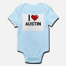 I Love Austin Body Suit