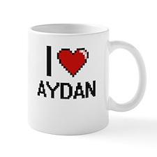 I Love Aydan Mugs