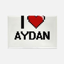 I Love Aydan Magnets