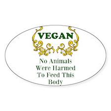 No Harm Decal