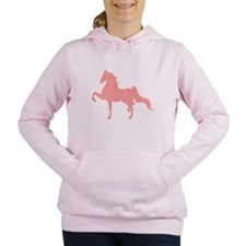 American Saddlebred - Pink pattern Women's Hooded