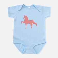 American Saddlebred - Pink pattern Body Suit