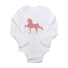 American Saddlebred - Pink pattern Body Suit