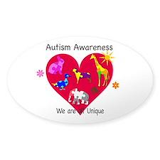 Autism Awareness Animals Decal