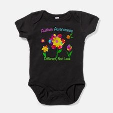 Autism Awareness Flowers Baby Bodysuit