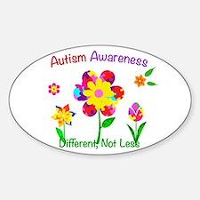 Autism Awareness Flowers Decal