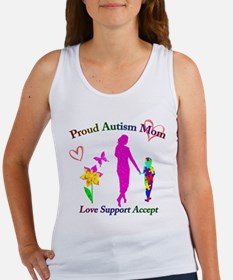 Proud Autism Mom Women's Tank Top