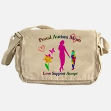 Proud Autism Mom Messenger Bag