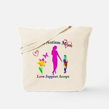 Proud Autism Mom Tote Bag
